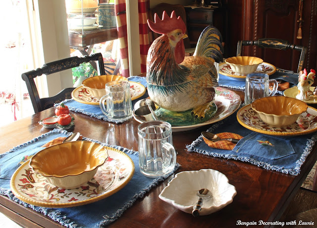 Fall Tablescape-Bargain Decorating with Laurie