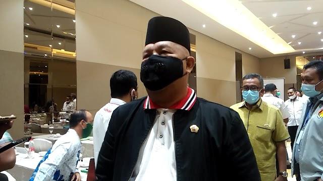 Pejabat Sementara (Pjs) Walikota Batam Syamsul Bahrum Hadiri Musyawarah V KONI Batam