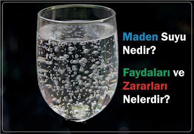 maden suyunun faydaları