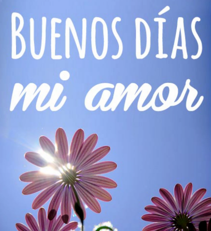 Mensajes de Buenos Dias y Buenas Noches para enamorar