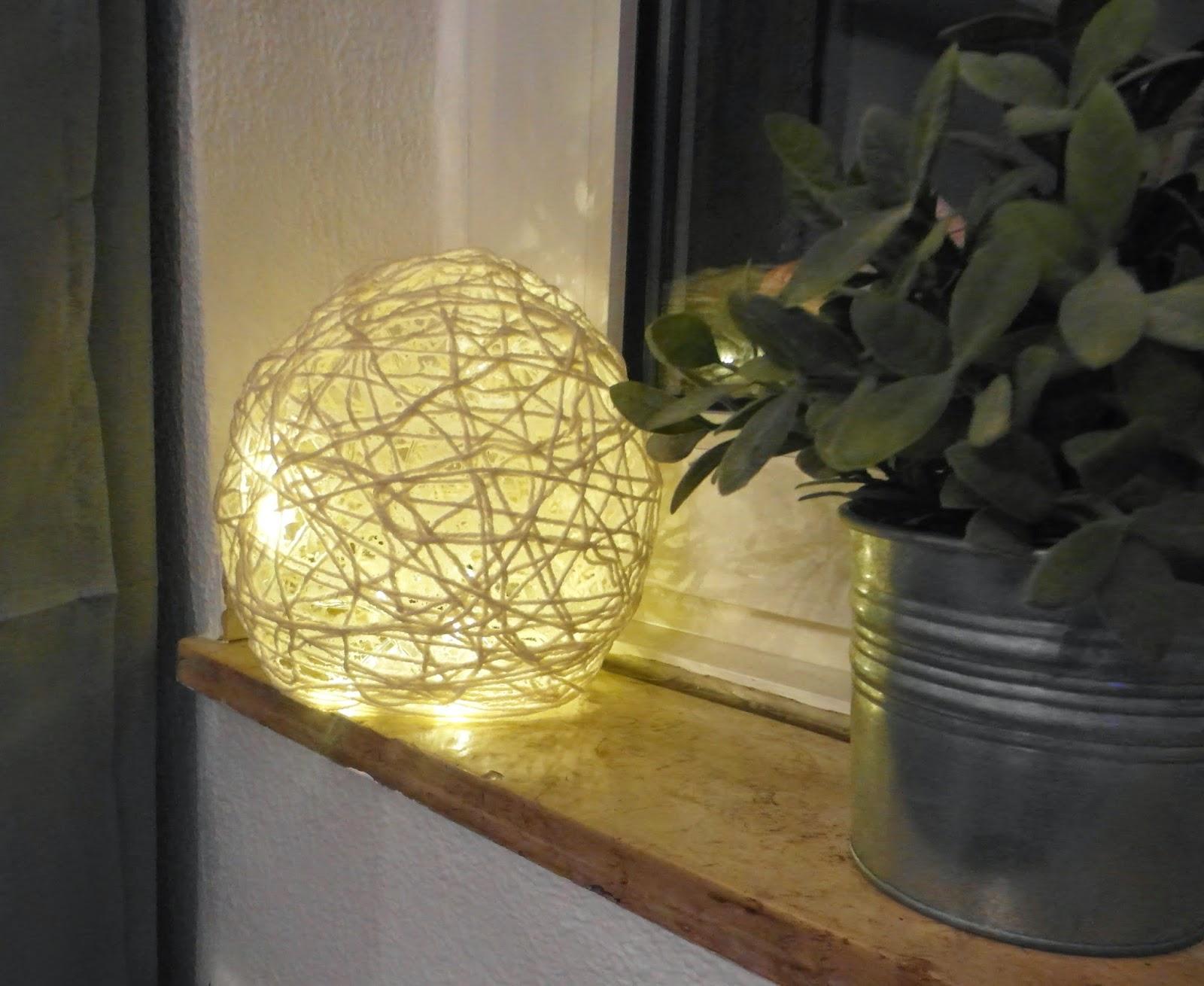 Lampe Aus Wolle : zauber zeller lampe aus wolle selbstgemacht ~ Pilothousefishingboats.com Haus und Dekorationen