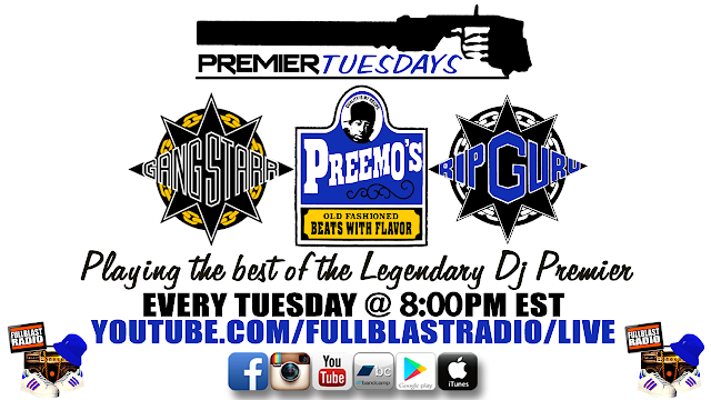 Premier Tuesdays - Best of Dj Premier (Every Tuesday 8pm est)