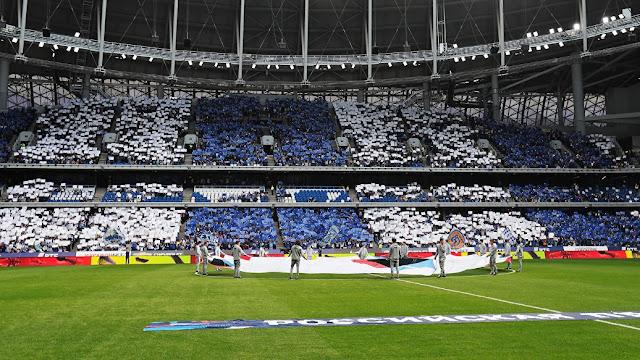 «Динамо» оштрафовано за необеспечение безопасности в первом матче на новой арене