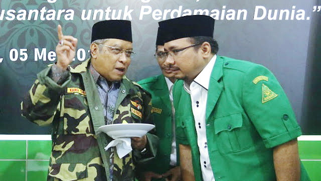 Said Aqil: Omnibus Law UU Cipta Kerja Menindas Nasib Buruh, Petani dan Rakyat Kecil, Demi NU Kita Harus Bersuara!