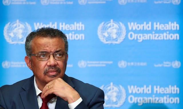 """Pandemia de covid-19 """"está longe de terminar"""", diz chefe da OMS"""