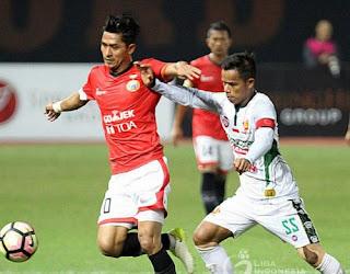 Persija Jakarta vs PS TNI 4-1