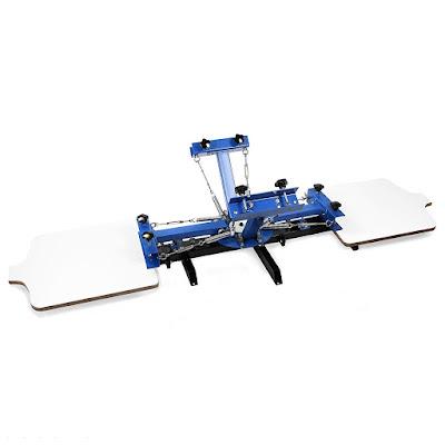4 color 2 station silk Screen Printing Machine ()