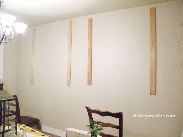 how to plank walls