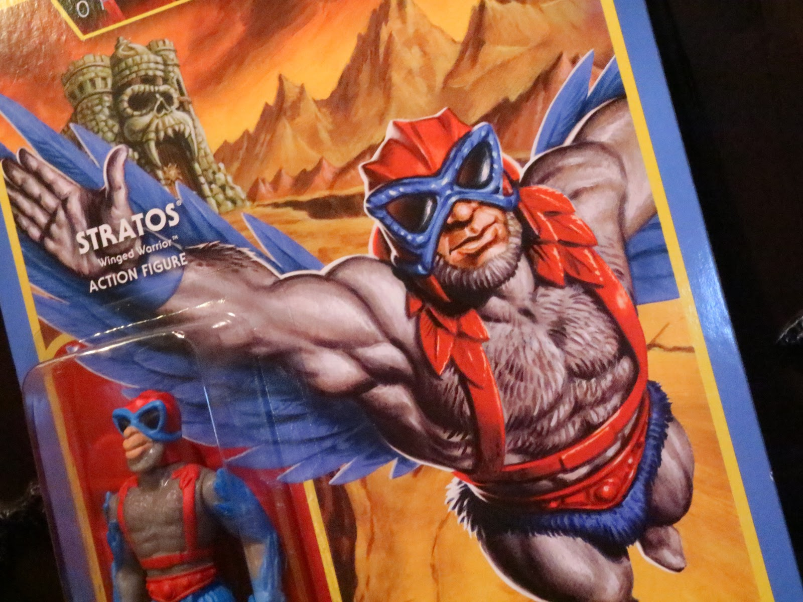 Stratos Winged Warrior Masters of the Universe MOTU Super 7 Action Figure