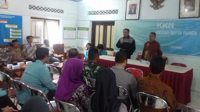 Penerimaan Mahasiswa KKN di Desa Kuncen