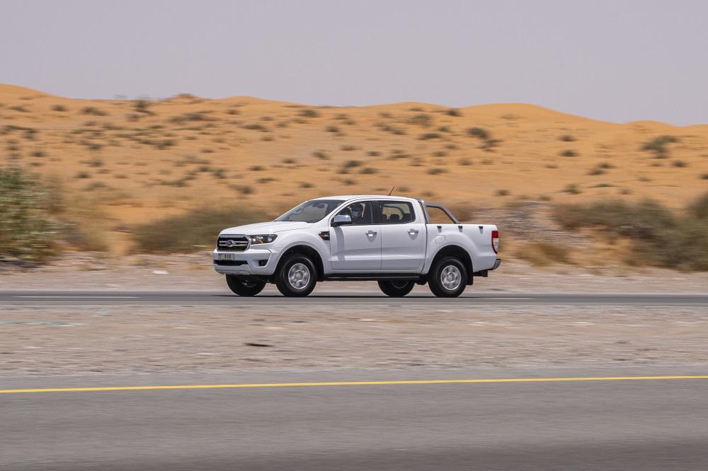 Ford Ranger chinh phục quãng đường 1.252 km chỉ với một bình nhiên liệu