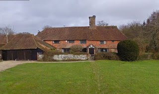 Yonder Lye house in Dunsfold, Surrey (from Google Streetview)
