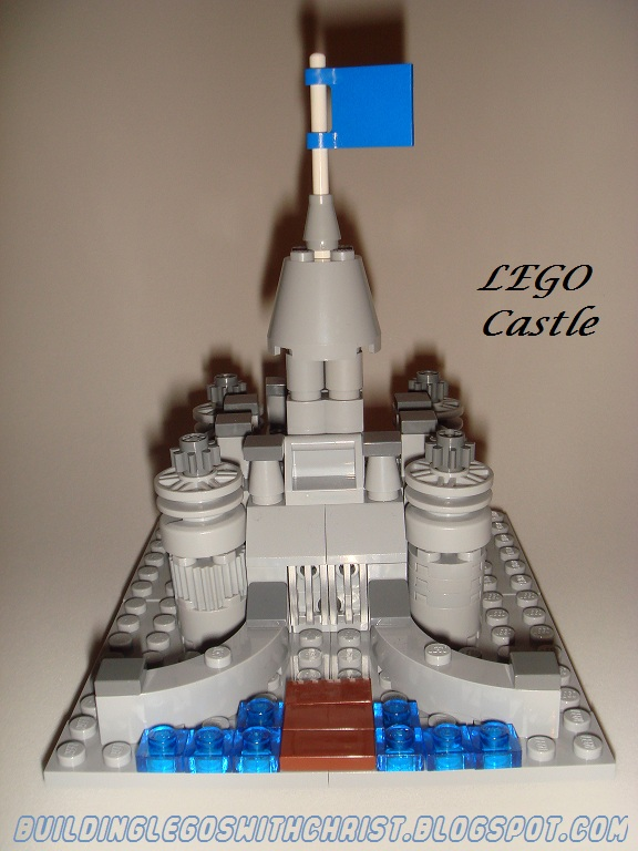 LEGO Castle Micro Build, Homeschooling with LEGOS, Building LEGOS with Christ, Kid Blogger