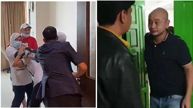 Ini Tampang Penganiaya Perawat RS Siloam Palembang saat Diciduk