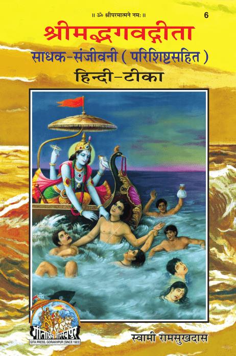 गीता साधक संजीवनी पीडीऍफ़ पुस्तक हिंदी में | Gita Sadhak Sanjivani Hindi PDF Book Free Download