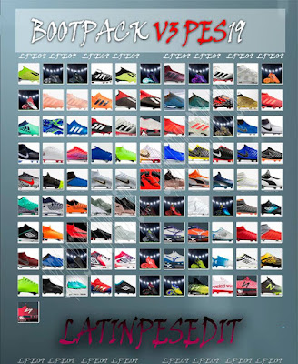 PES 2019 Bootpack v3 by LPE09