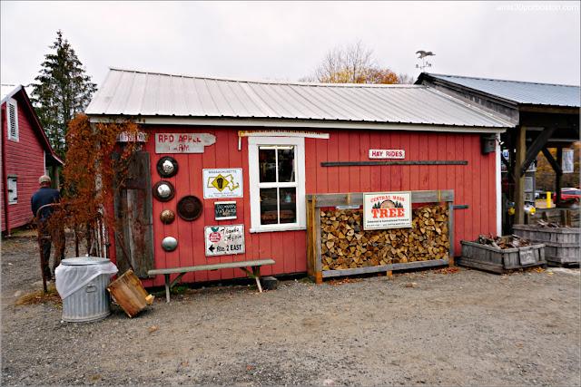 Granja Red Apple Farm en Massachusetts