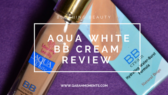 Blushing Beauty Aqua White BB Cream