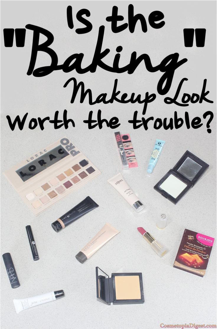 "How do do ""baking makeup"" - tutorial and review, full-face FOTD and EOTD with Lorac Pro 3."