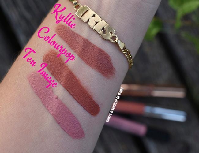 Lips Week - Ten Image - Colourpop - Kyllie Cosmetics