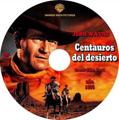 Centauros del desierto (John Wayne) - [1956]