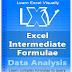 Learn Excel Visually – Excel Intermediate Formulae 2021