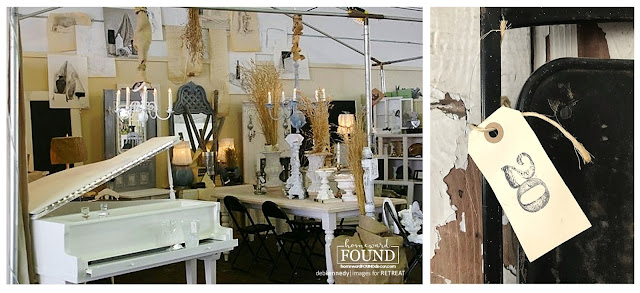 repurposed, vintage, furniture, vintage show booth, vintage show, vintage metal furniture, upcycled, wall art, lost and found treasures, retail display, vintage show display