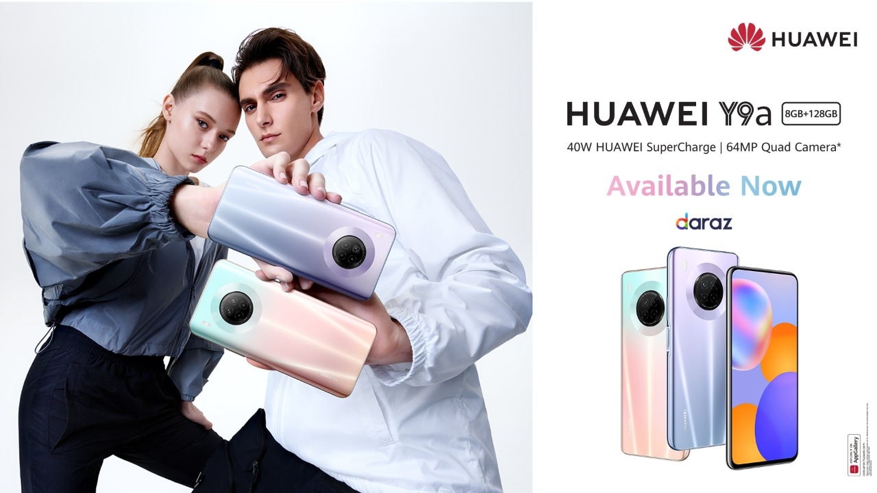 HUAWEI Y9a - the Midrange King Goes on Sale across Pakistan Today