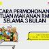 Cara permohonan bantuan makanan RM100 selama tiga bulan