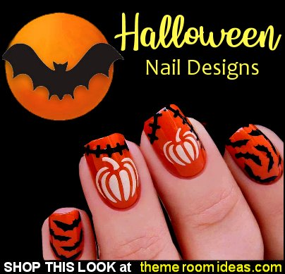 Pumpkins Stencils for Nails, Autumn Fall Halloween Nail Stickers, Nail Art, Nail Vinyls