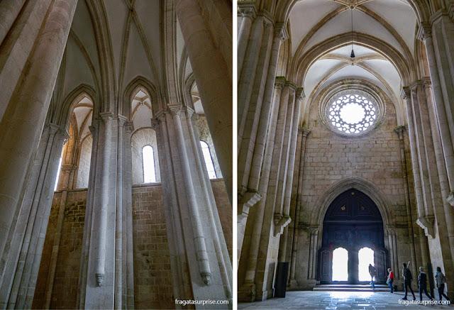 Igreja do Mosteiro de Alcobaça, Portugal