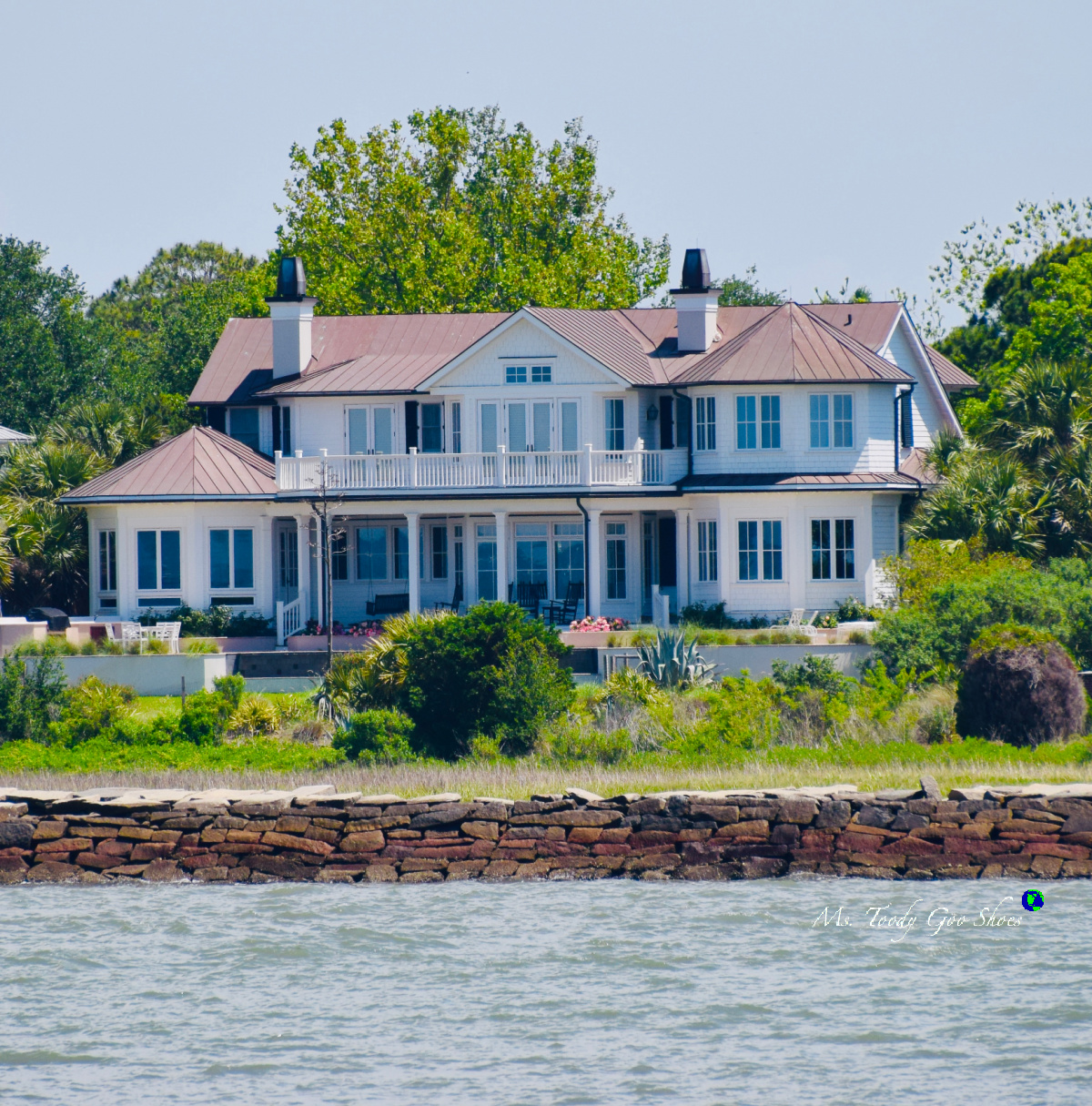 Waterfront Home on Sullivan's Island, SC | Ms. Toody Goo Shoes
