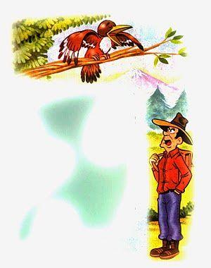 fabula la corneja y el cuervo