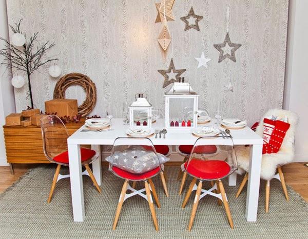 Deco ideas decorativas de navidad para espacios peque os for Cosas decorativas para navidad