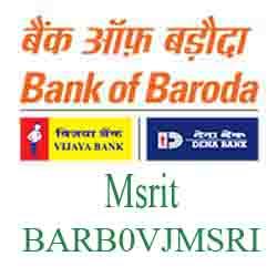 Vijaya Baroda Bank Msrit,Bangalore Branch New IFSC, MICR