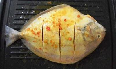 resep ikan bawal bakar, ikan bakar, ikan bawal, resep ikan bawal