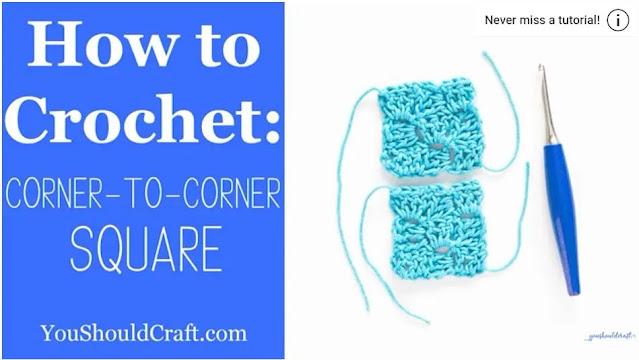 Como Tejer Granny C2C a Crochet