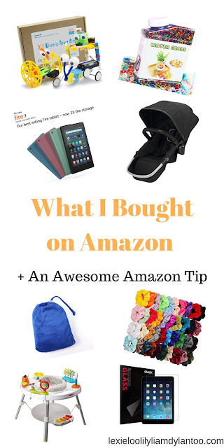 What I Bought on Amazon + An Awesome Amazon Tip For Special Needs Families