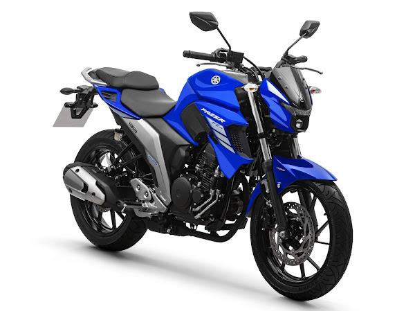 Yamaha Fazer FZ25 ABS 2022 - azul