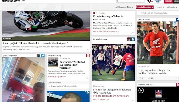 Pedrosa dan Marquez Futsal dengan Rekan Media