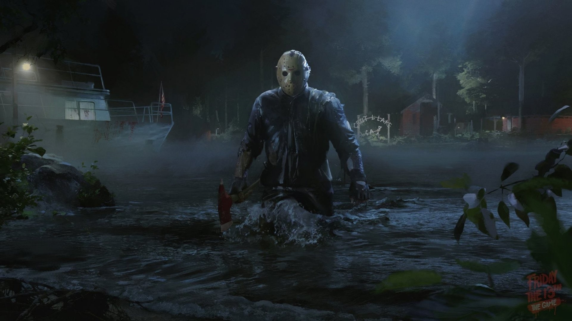 Friday The 13th Game PS4 Wallpaper