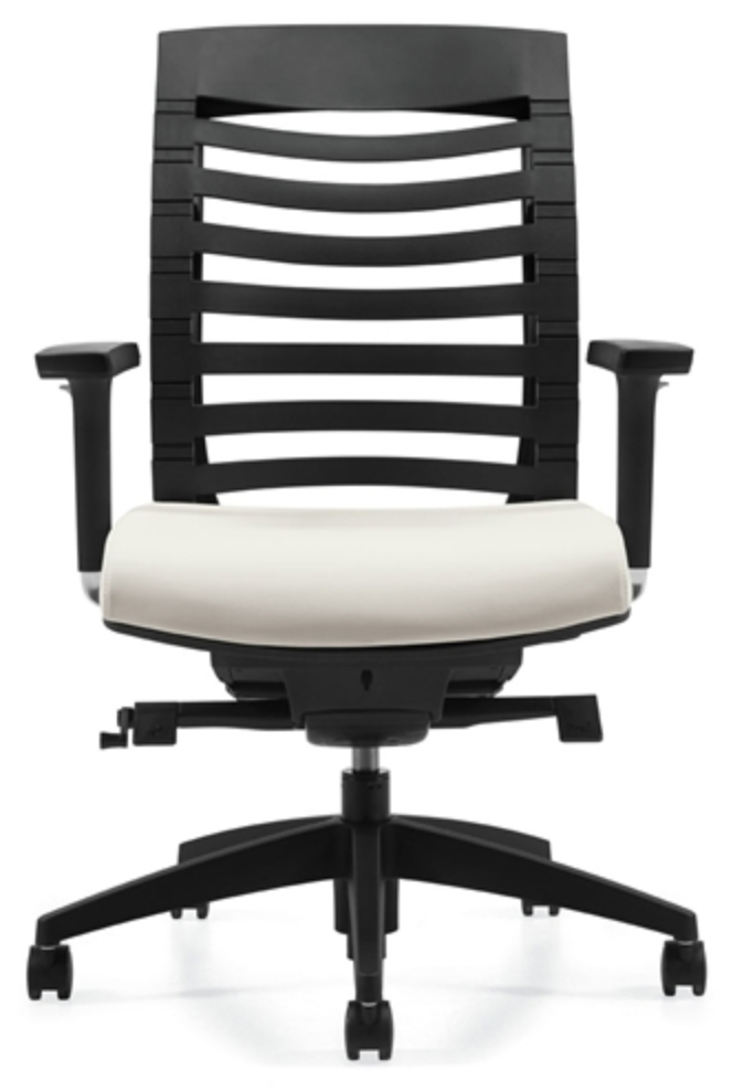 Global Arti Series Polypropylene Back Chair