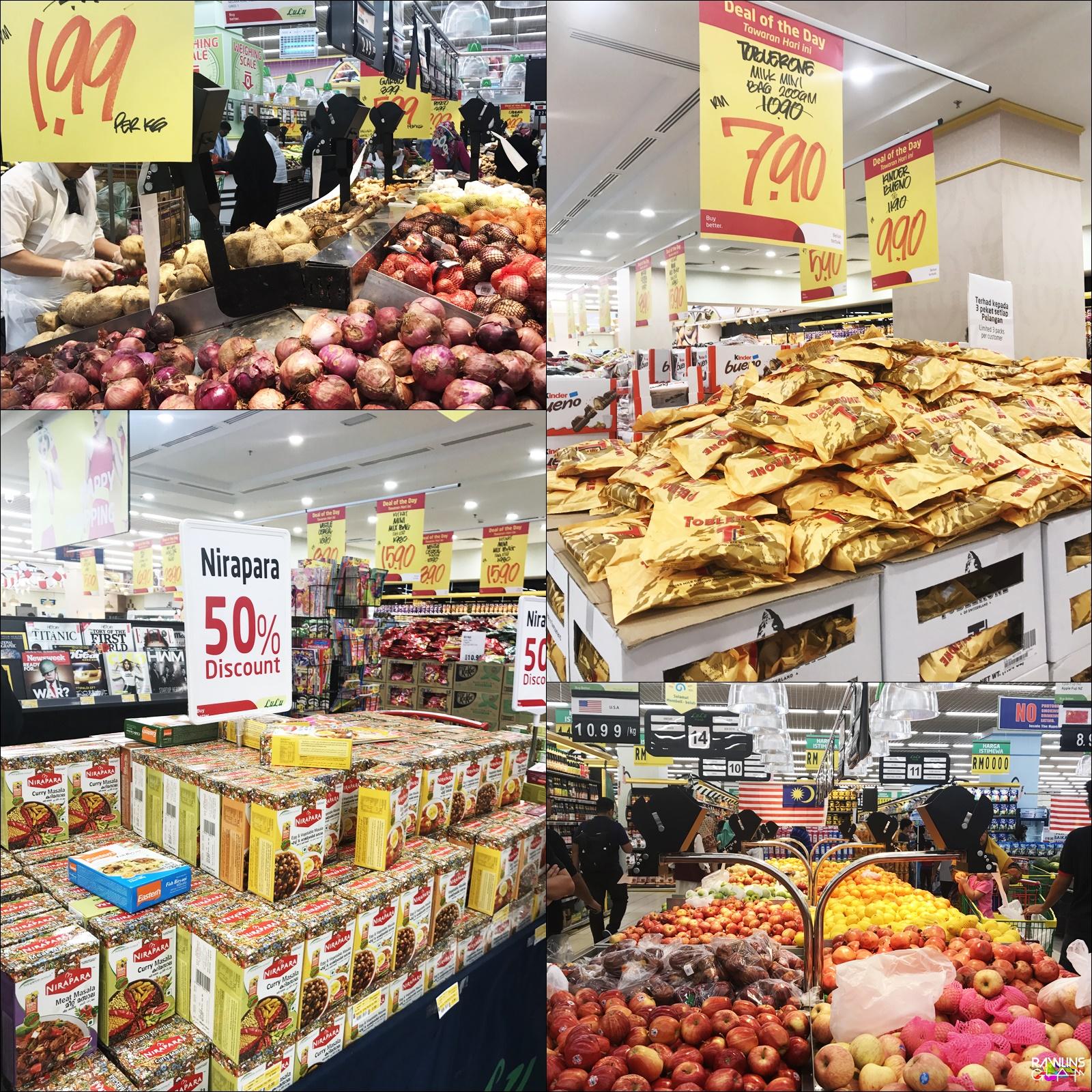 Lulu Hypermarker Caps Square, Lulu Hypermarket Kuala Lumpur, pasar raya murah, Malaysia Book of Record, The Longest Fresh Fruit Cake, Hari Malaysia, Rawlins GLAM,