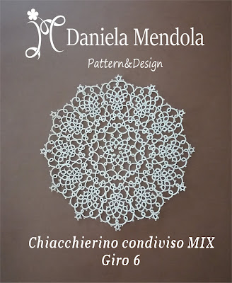 Tatting sharing MIX: round 6 - Chiacchierino condiviso MIX: giro 6