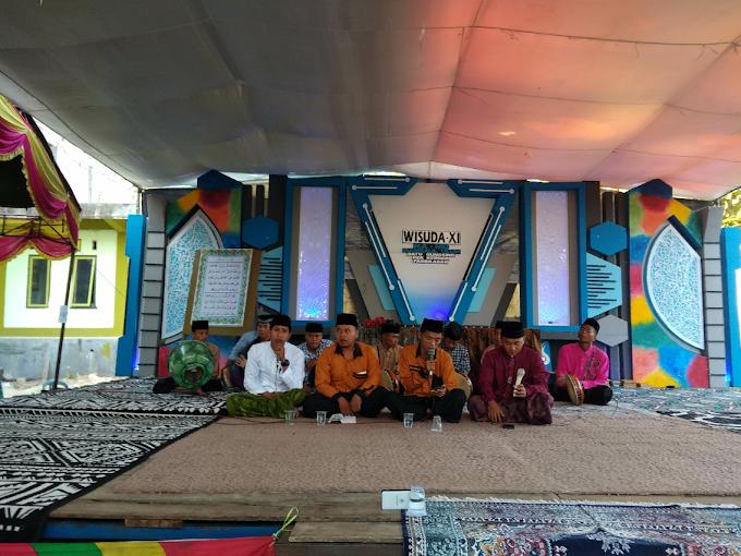 Grup Banjari Batu Gungsing Hiasi Pra Acara Haflatul Imtihan Akbar & Wisuda XI