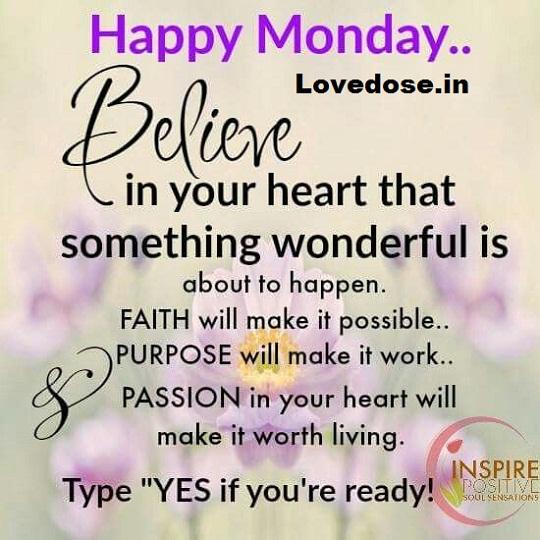 Happy Monday Wishes & Quotes