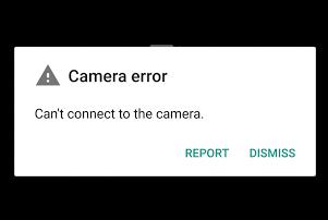 Error kamera hp android tidak dapat terhubung