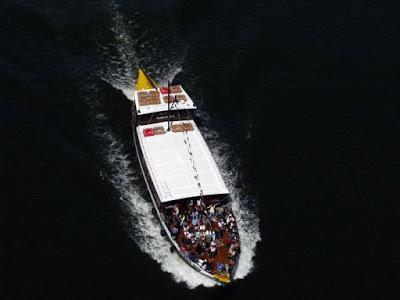 barco do Cruzeiro das Seis Pontes Porto