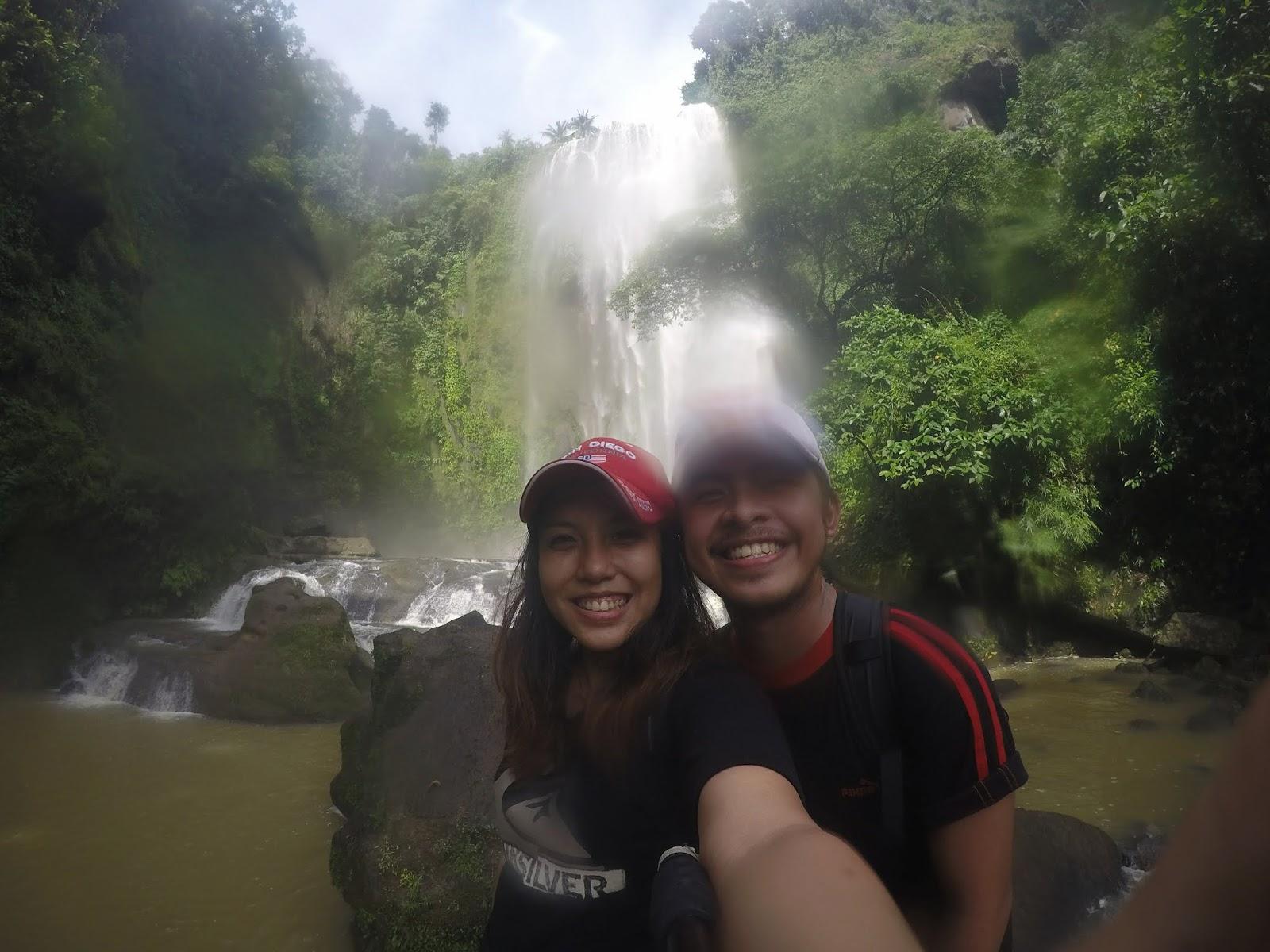 hulugan falls laguna philippines