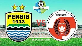 Daftar 18 Pemain Persib Bandung vs Perseru, 4 Pemain Inti Absen